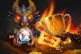 Dragon's Fire Infinireels Raffle