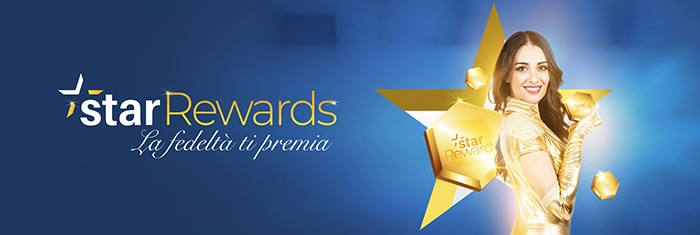 Accumula punti con StarRewards