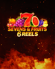 Sevens and Fruits 6 reels