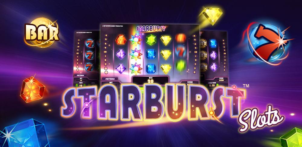 Bilderesultat for Starburst slot