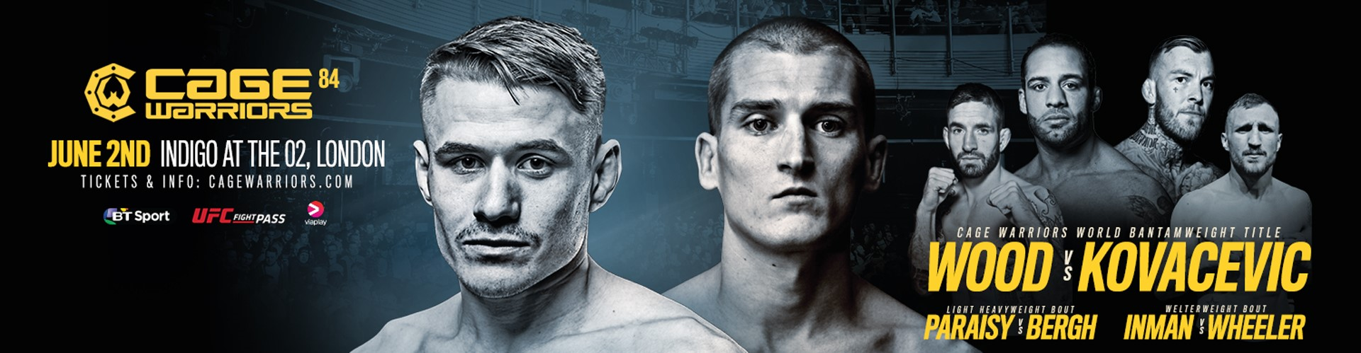 Cage Warriors 84
