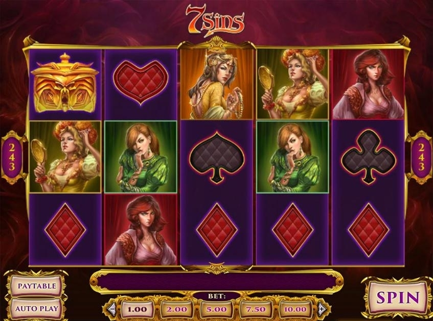 7 sins slot review betsson