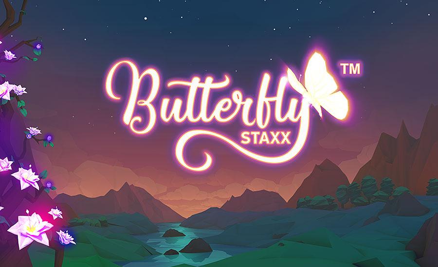 NetEnts butterfly staxx logo