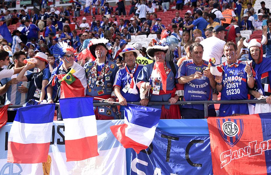e1f853246cf VM Power Ranking: Frankrig topper de otte kvartfinalister