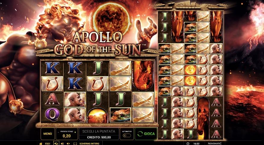 Apollo God of The Sun   StarCasinò