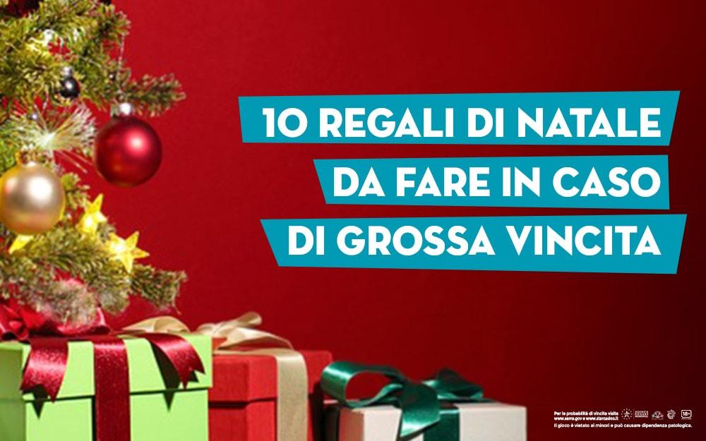 Regali Di Natale Da Spendere Poco.10 Regali Di Natale In Caso Di Vincita Starcasino Blog