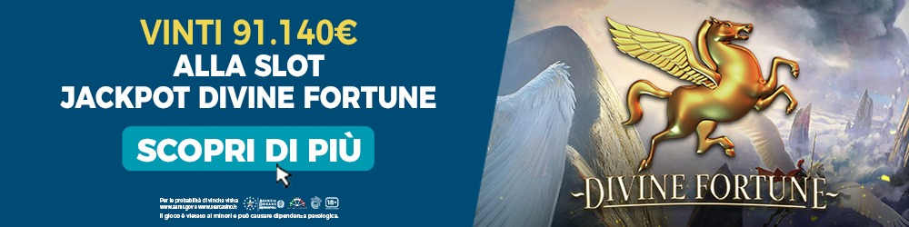 Slot Divine Fortune Jackpot | StarCasinò