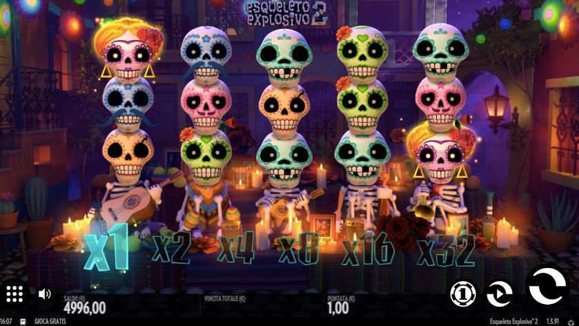Slot Esqueleto Explosivo 2 | StarCasinò