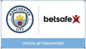 Manchester City Betsafe official betting partner
