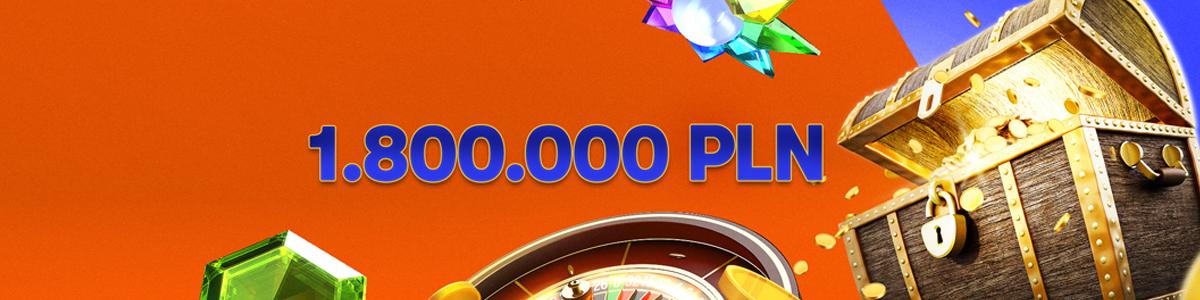 Rozdanie Gotówki 1 800 000 PLN we wszystkich grach Betsson
